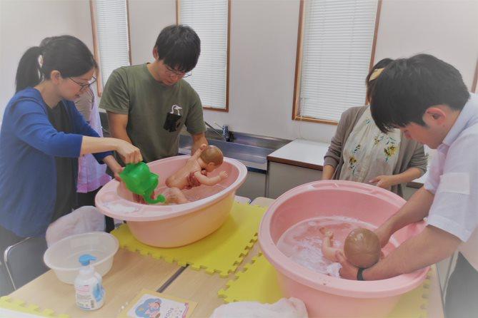 沐浴 スキンケア 両親学級 プレパパママ